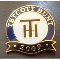 Tetcott Hunt 2009  badge