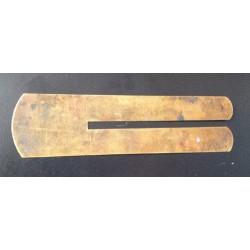 Vintage Brass Button Stick