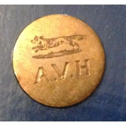 Avon Vale Hunt Button 21mm