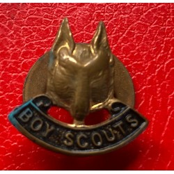 Vintage Boy Scouts Wolf...