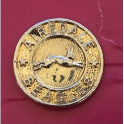 Airedale Beagles 20mm brass...