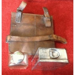 Vintage leather cased James...