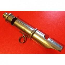 Vintage whistle. Stamped...