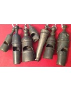 PEWTER WHISTLES