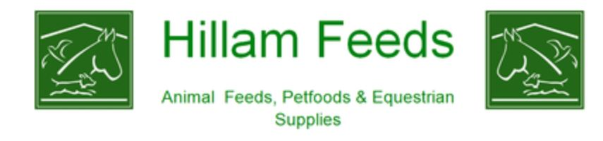 Shop at Hillam Feeds online or call and collect